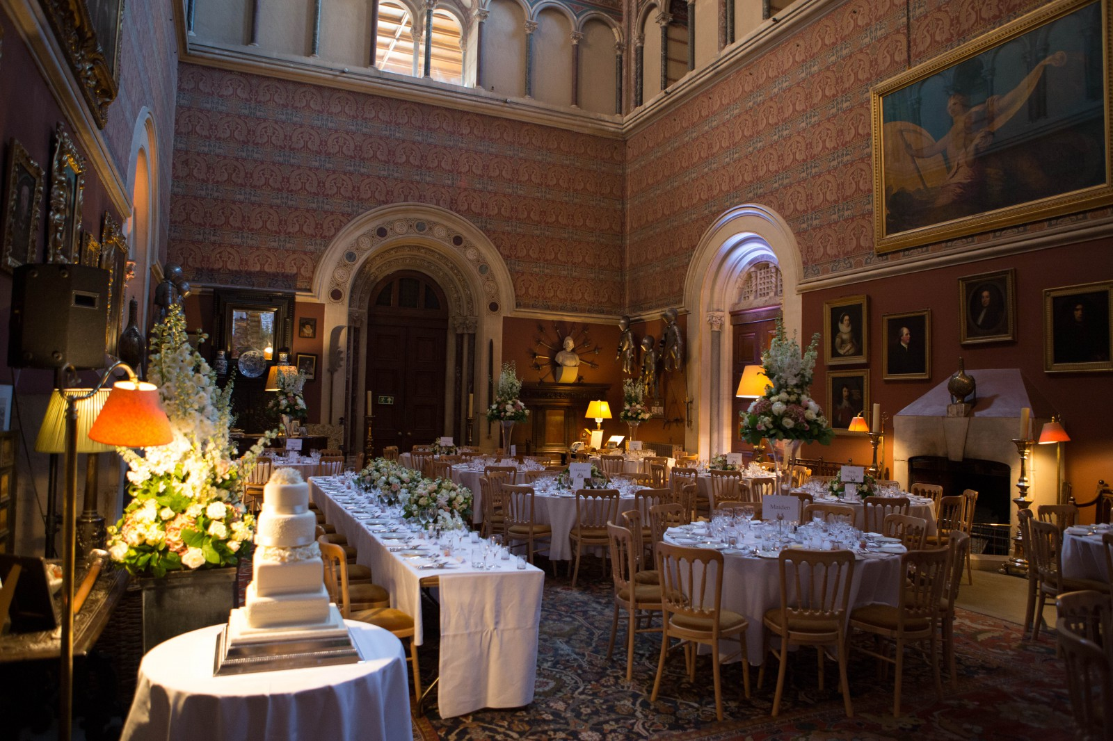 0020_ Eastnor castle wedding photography elegant and wild ...